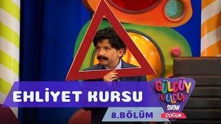 Güldüy Güldüy Show Çocuk 8.Bölüm - Ehliyet Kursu