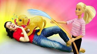 Барби и Кен в школе - Странный питомец директора. Я не хочу в школу 40
