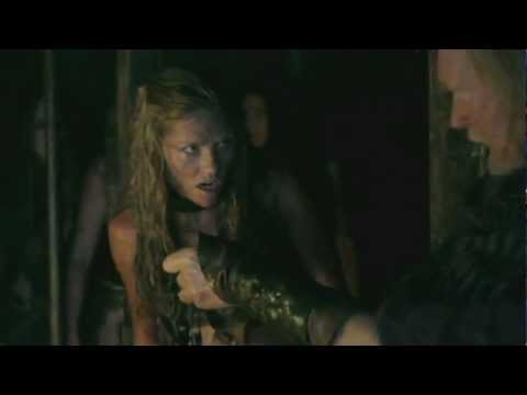 Ellen Hollman as German Warrior SAXA
