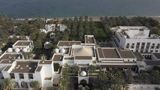 Bird's-eye view of The Chedi Muscat | GHM hotels