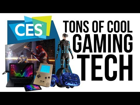 All the cool Gaming tech shown-off at CES 2018