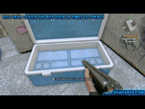 Dying Light - Where to find Korek Machete (Secret Weapon)