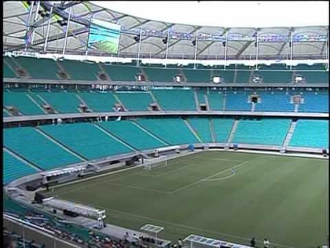 Arena Fonte Nova é entregue na Bahia e passa a ser o 3º estádio pronto para a Copa das Confederações