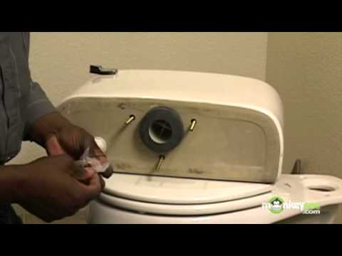 how to assemble a new toilet