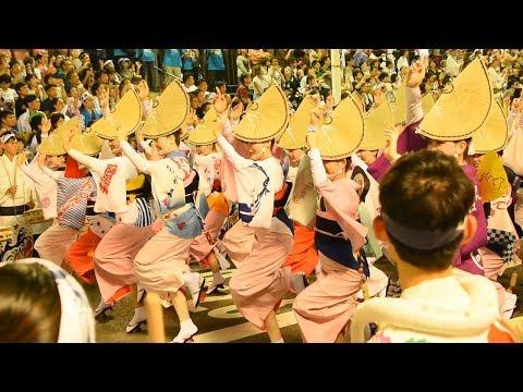 徳島の阿波踊り開幕 総踊り2年ぶりに復活