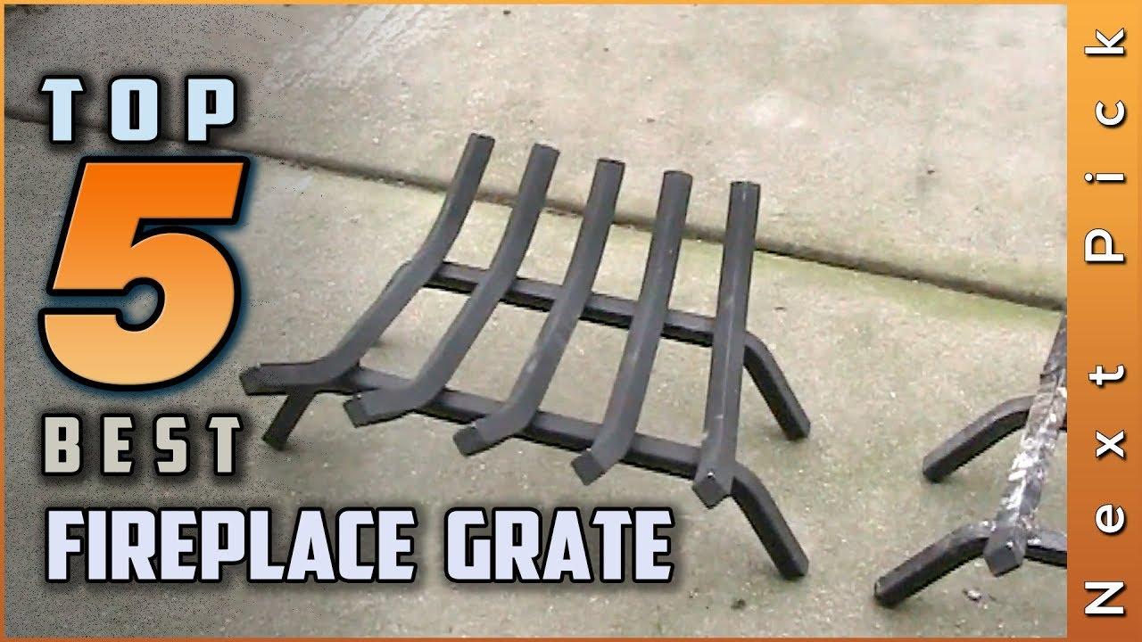 24-Inch Panacea 15424 Cast Iron Fire Grate Black