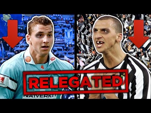 10 Greats Who Were Relegated!