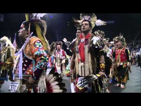 2014 Denver March Grand Entry - Saturday Session 2