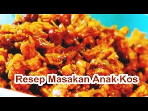 Resep Masakan Anak Kos