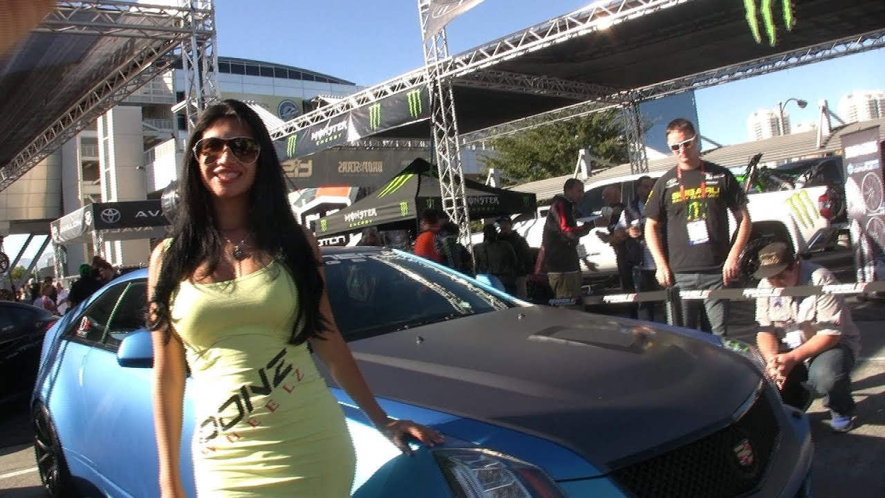 Nice Girl Wallpaper Pic Dub Car Show Las Vegas Sema 2013 Youtube