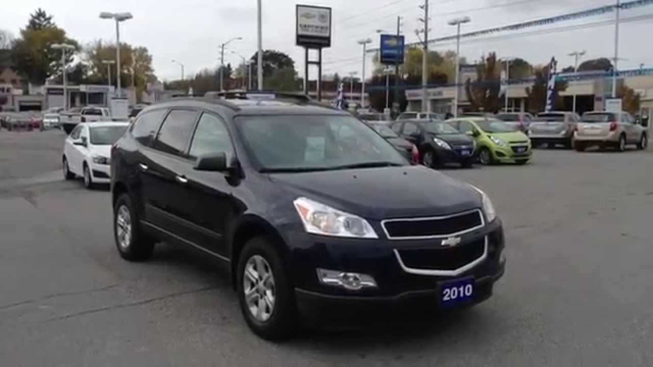 Used Chevy Traverse >> Used 2010 Chevrolet Traverse LS in Oshawa - YouTube