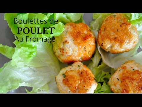 recette de boulettes de poulet cuisine rapide youtube. Black Bedroom Furniture Sets. Home Design Ideas