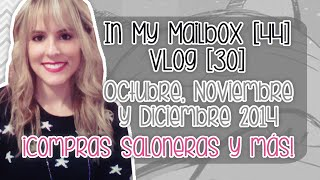 In My Mailbox [44] - Vlog [30]: Compras saloneras y más! (Book-Haul)