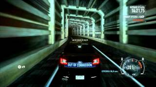 need for speed the run final race with ford taurus sho police interceptor 2012