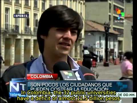 Colombia: Public education in crisis
