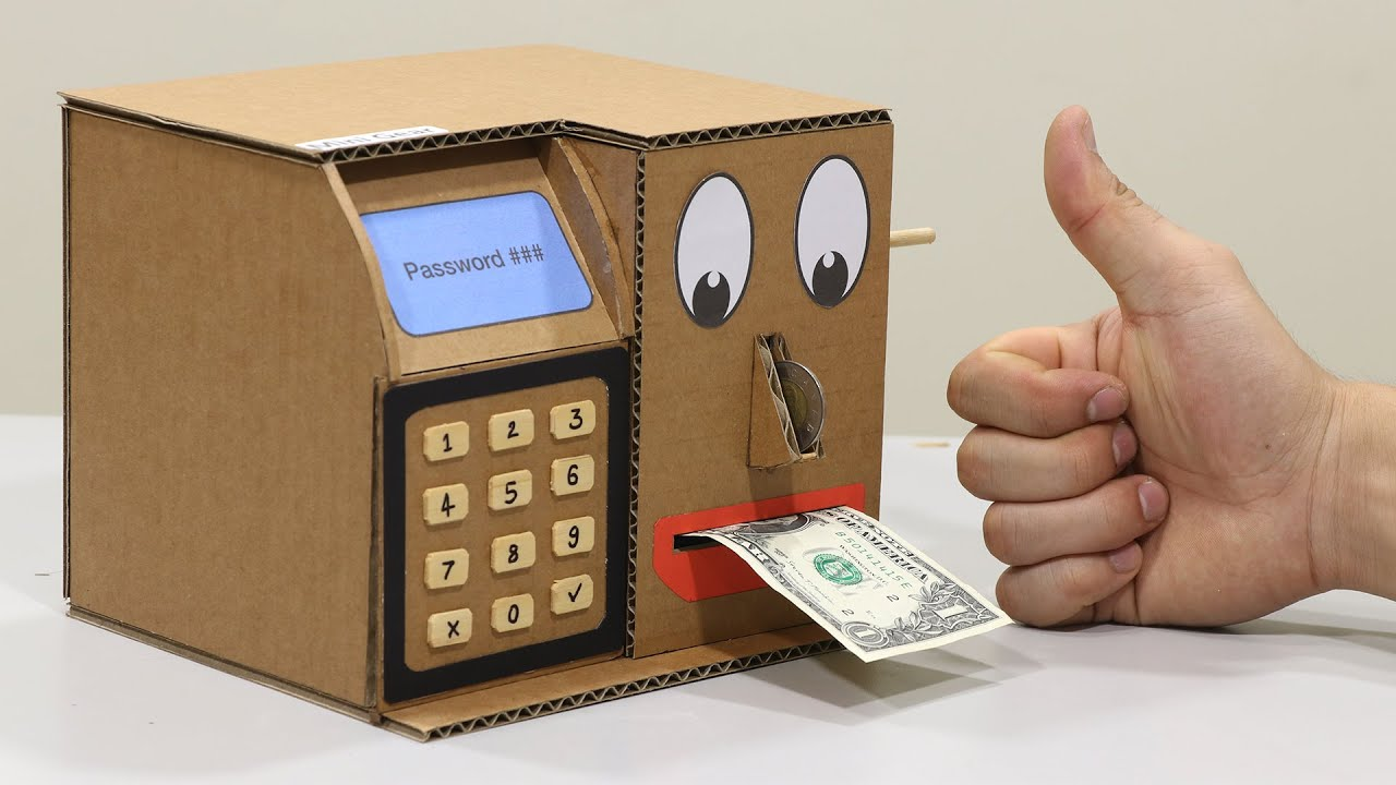 Build Personal Money Saving Machine Design as ATM