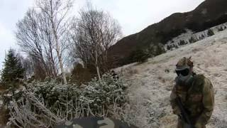 Paintball Norge Cold Winter Game