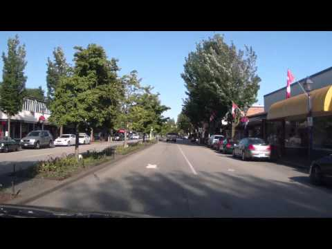 Driving in West Vancouver