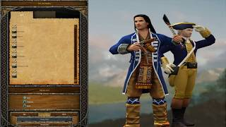 Age of Empires III The WarChiefs Gameplay Campaign Fire Act I Valley Forge