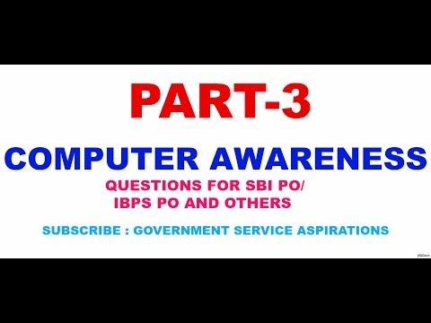 COMPUTER AWARENESS PART III