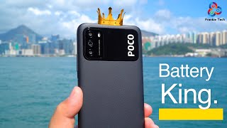 POCO M3 In-Depth Review. BATTERY KING.