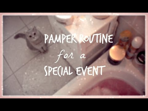 GRWM / Pamper Routine: Special Event