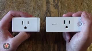 TP Link Mini (HS105) vs Belkin Wemo Mini Smart Plug