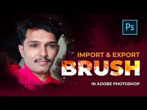 Import & Export Brushes In Photoshop CC