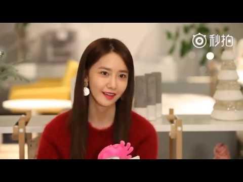 [TRANS] 161215 YoonA 微博韩流 #爱我请举手# Chinese Interview