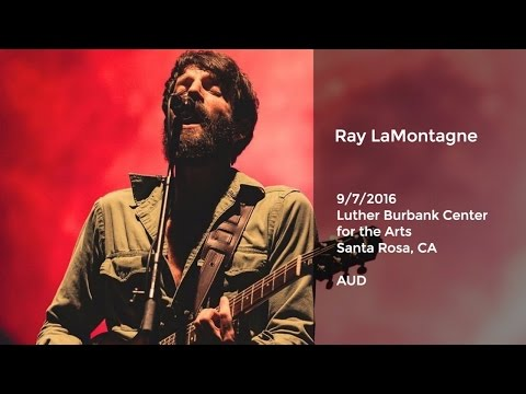 Ray LaMontagne Live at the Luther Burbank Center for the Arts, Santa Rosa, CA - 9/7/2016 AUD