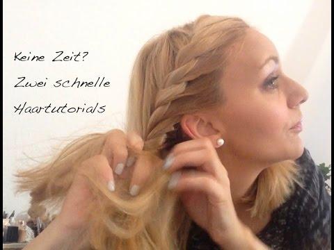 Tutorial Zwei Schnelle Frisuren Mit Und Ohne Haarband YouTube