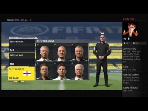 Fifa 17 - Grimsby Town Manager Mode Part 1 - The Start