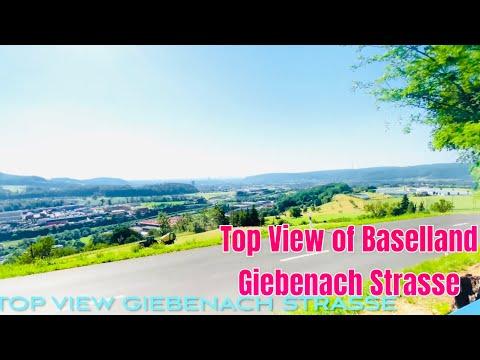Download #SwissView 2021 #Giebenach Füllinsdorf Basellandschaft top view.