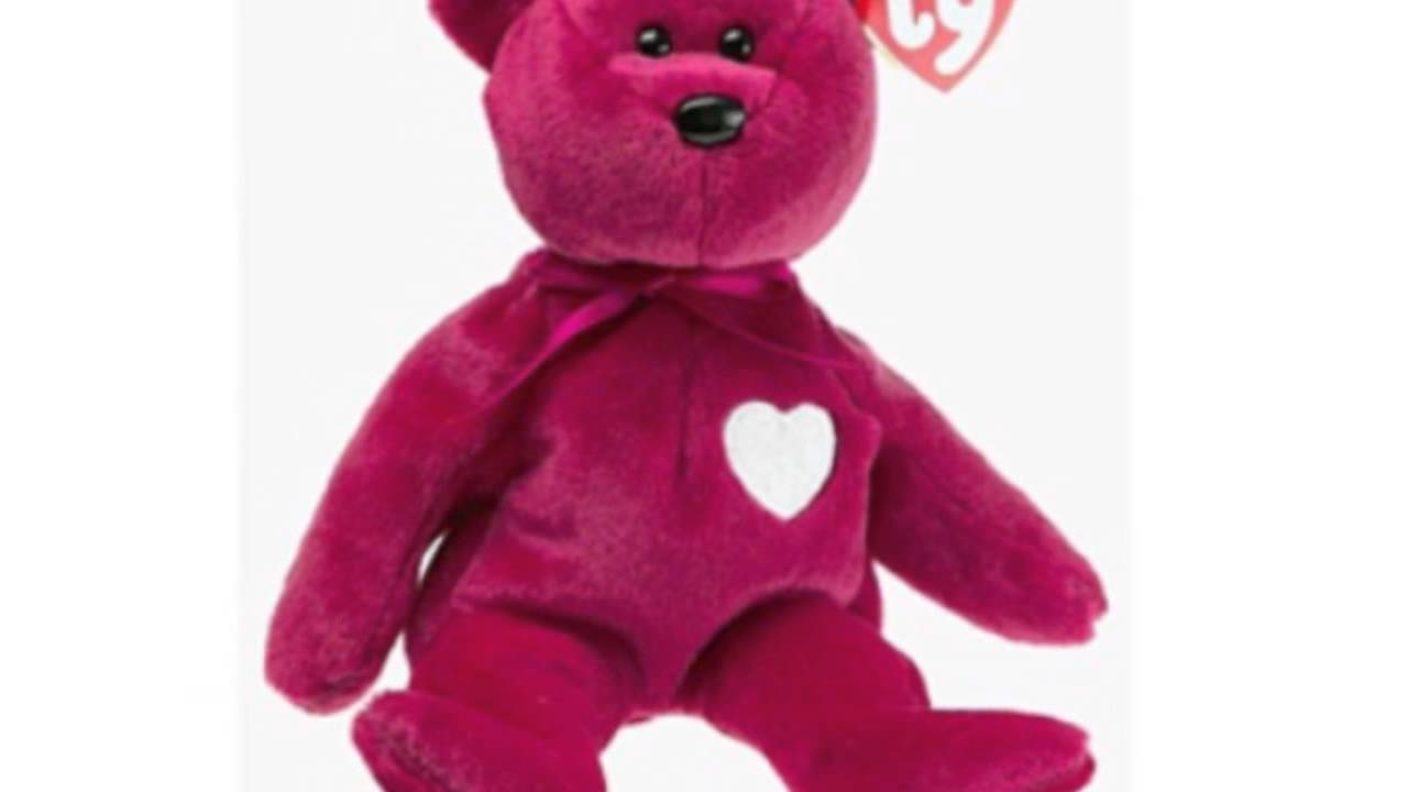 Ty Beanie Babies - Valentina The Bear - YouTube 9d73811cb