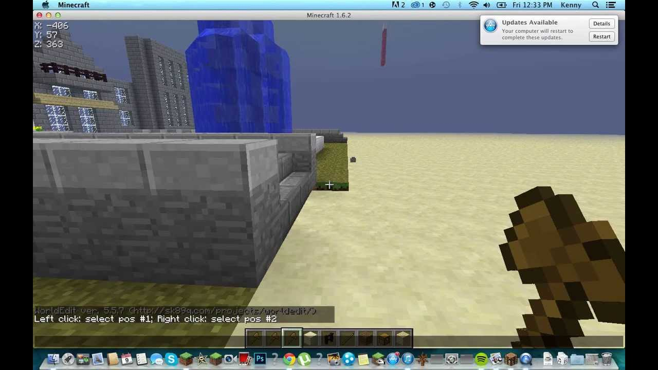 How To Get World Edit On Singleplayer Minecraft 1 6 2