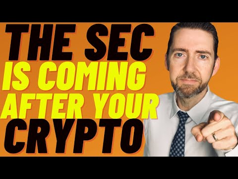 Is Your Crypto In Danger From The SEC? Lawyer Discusses:  SEC Wants to Control YOUR Cryptocurrency!