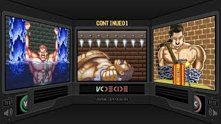 Final Fight Continue Screens Comparison (Final Fight 1, 2, 3) Game Over Comparison (Side by Side)