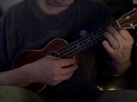 Fly Me To The Moon Chord Solo On Ukulele Youtube