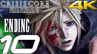 Crisis Core: Final Fantasy VII - Gameplay Walkthrough Part 10 - Ending & Final Boss [4K 60FPS]