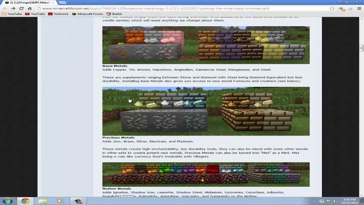 metallurgy 2 mod 1.3.2 for minecraft 1.3.2