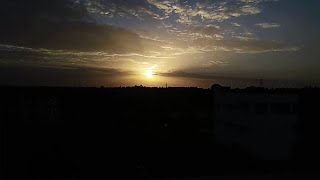 beautiful sunset timelapse taken from redmi note 4 android phone