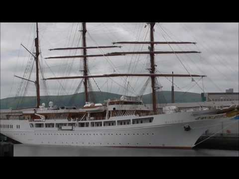 Sea Cloud 11 Barque Cruise Ship Belfast 2017