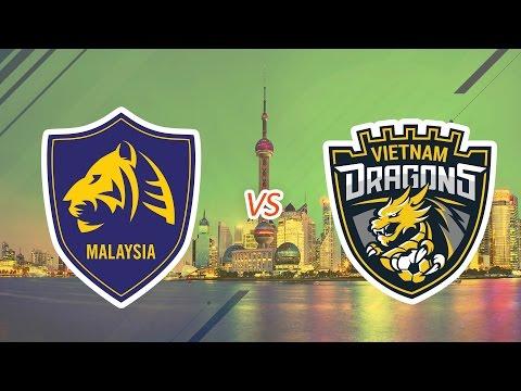 [24.07.2016] Malay Tigers vs VietNam Dragons [EACC 2016 - Tranh 3-4]