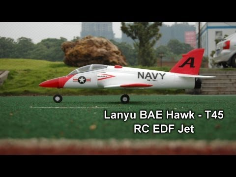 Review - Lanyu GoShawk BAE Hawk T-45 EDF Jet