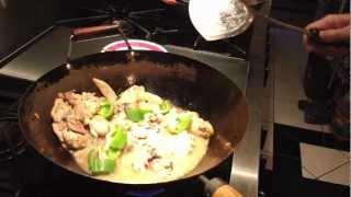 """Stir Fry """"chicken In Black Bean Sauce""""- Chinese Restaurant Style"""