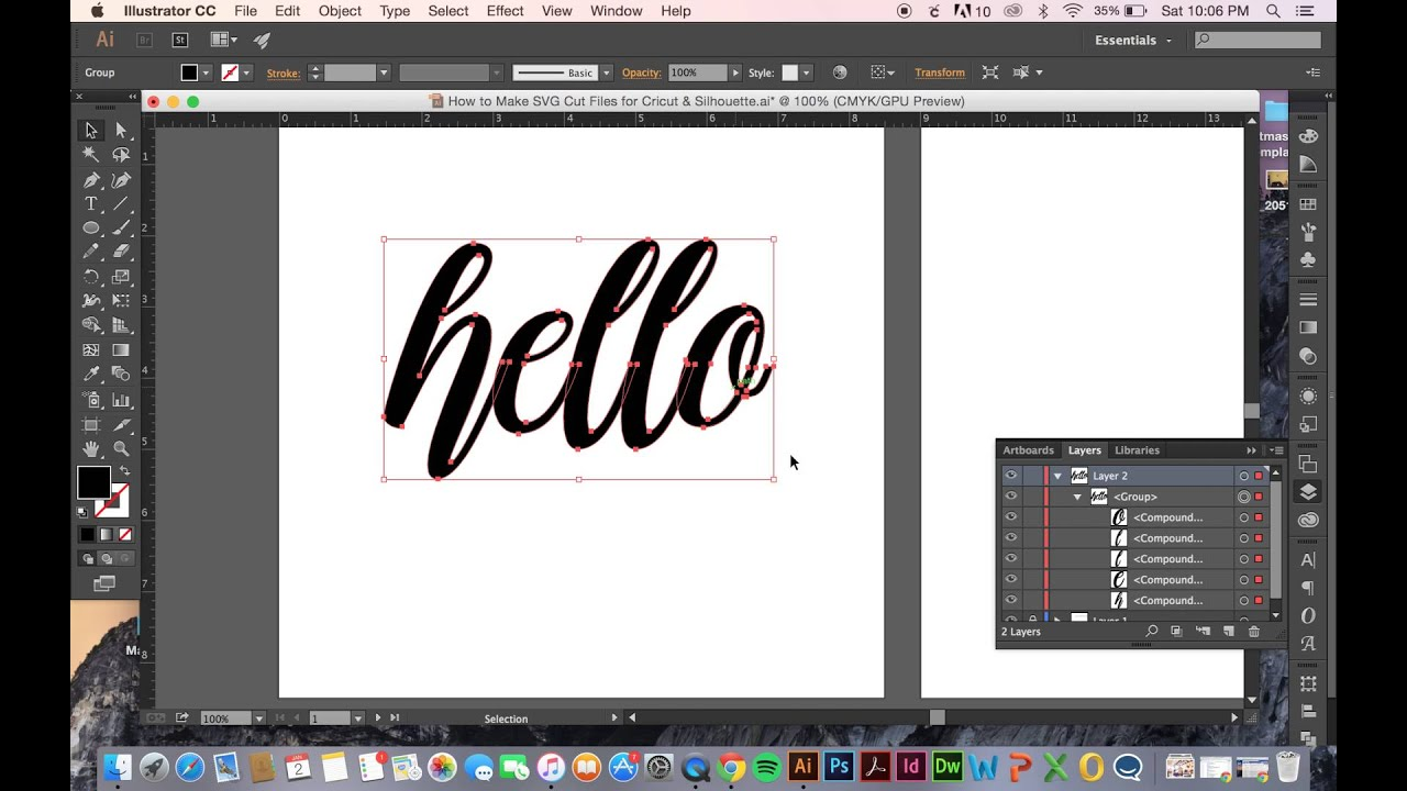 Download How to Make SVG Cut Files for Cricut & Silhouette - YouTube