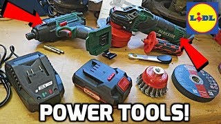 Lidl Sells Power Tools?!