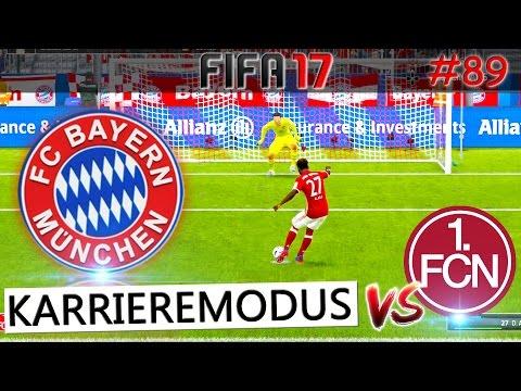 FIFA 17 - FC Bayern München vs 1. FC Nürnberg (Fifa 17 Karrieremodus #089) Deutsch