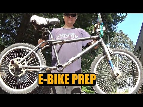 DIY E-BIKE (Ep.3) || Clean Up & Prep