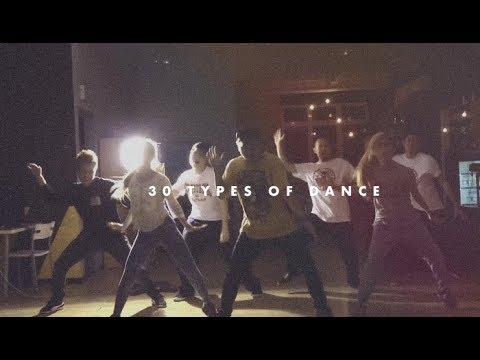 30 Types Of Dances